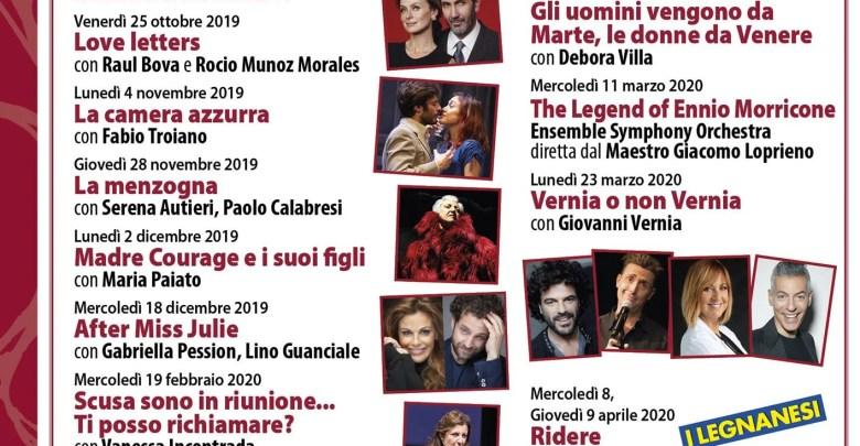 Locandina Borgomanero in scena 2019-20
