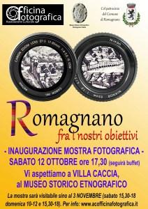 Locandina Mostra Officina Fotografica a Villa Caccia