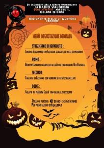 Menu Halloween Quarona