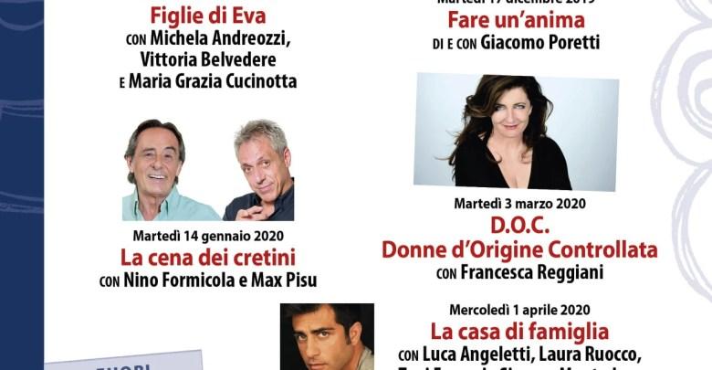 locandina Omegna in Scena 2019-20