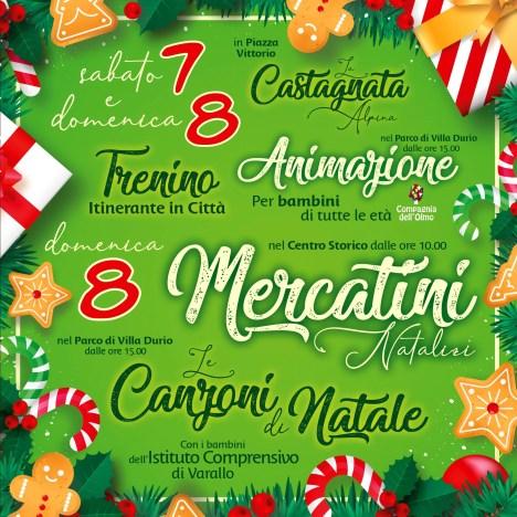 eventi natalizi Varallo 2019 mercatini