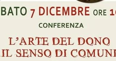 Photo of Borgosesia: conferenza sull'Arte del dono e il senso di Comunità