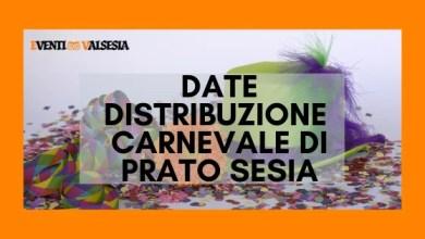 Photo of Prato Sesia Carnevale 2020. Le date delle distribuzioni