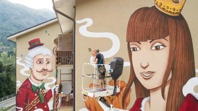 """Photo of Varallo: inaugurazione Murales della """"Cecca"""""""