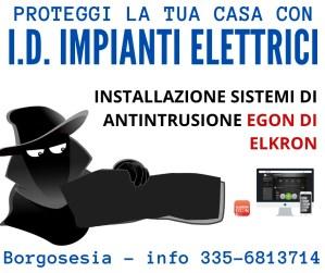 I.d. impianti elettrici Dall'Ara L. Borgosesia (VC)