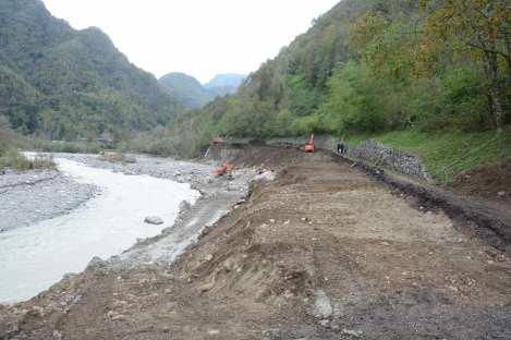 Alluvione 2020 alta Valsesia. strada Valmastallone ph Roberto Santucci