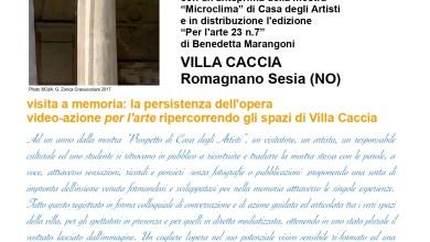 """Photo of Romagnano Sesia:  a Villa Caccia e on line """"Sostrato"""""""