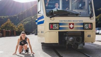 Photo of L'atleta Ajla Del Ponte e Ferrovie Centovalli insieme oltre i confini nazionali