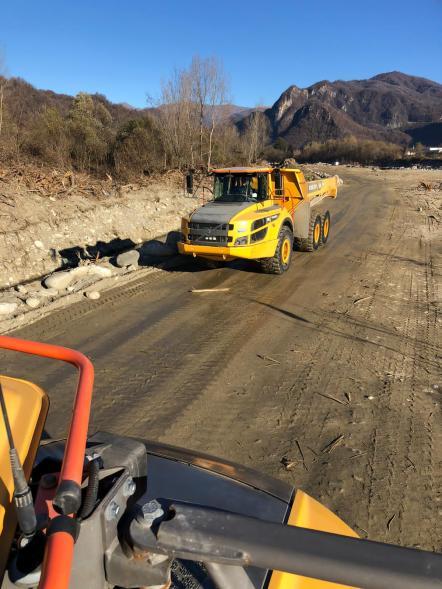 lavori post alluvione 2020 Valsesia