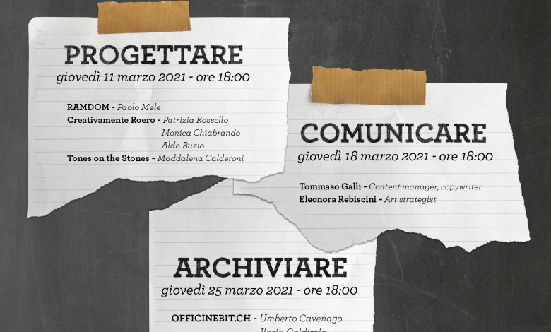 Photo of Progettare, Comunicare, Archiviare: 3 incontri di formazione on line
