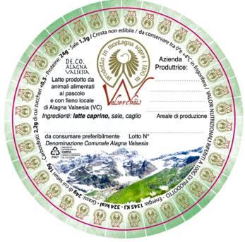 etichetta De-Co Alagna