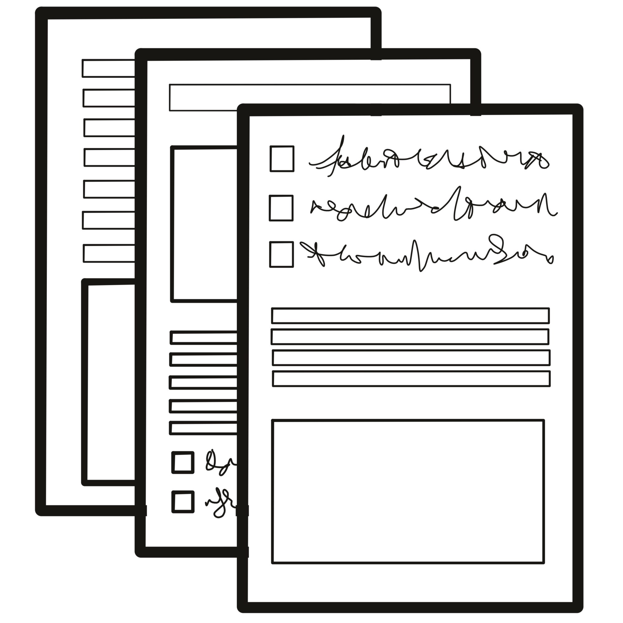 hight resolution of multiple form templates