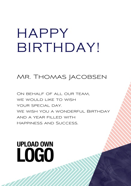 Oslo Wishes Birthday Greetings Corporate