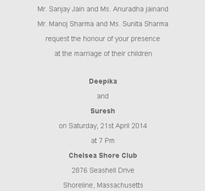 Wedding Card Wordings Archives Event Management India
