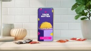 Taco Bell E-Gifting for Consumers