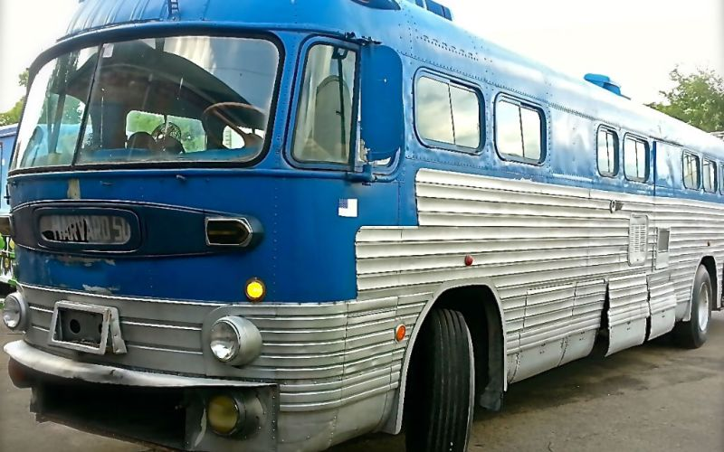 Greyhound US Bus Vintage Eventmobile Online