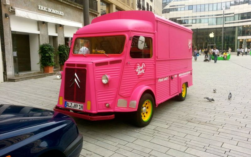 Citroen HY Pink Lady Roadshow