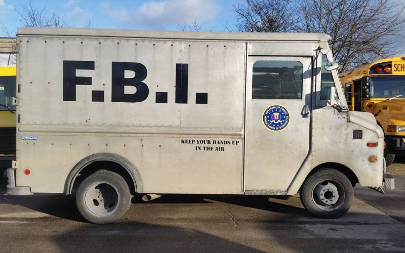 FBI Step Van