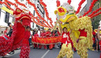 Chinesisches Neujahrsfest am Potsdamer Platz