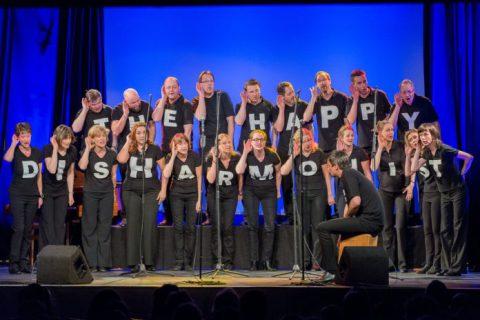 The Happy Disharmonists enCHORe,A-cappella-Bigband,Musik,Konzert,Kultut,Berlin,#VisitBerlin, BAR JEDER VERNUNFT