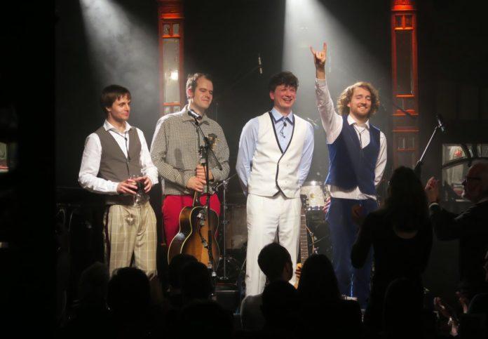 Tonträger: Lennart Schilgen,Johannes Wolff, Daniel Bombei, Jonathan Richter,Kultur,Unterhaltung,Musik-Show