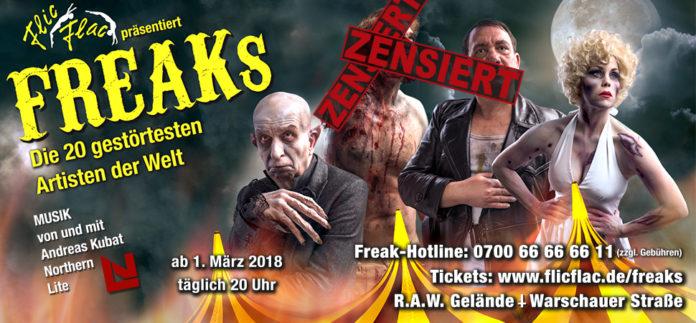 Flic Flac,Show,Berlin,Unterhaltung,Freizeit,Berlin,#VisitBerlin,Freaks