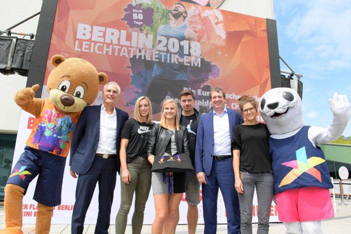 Kugelstoß, Sport,Berlin,Event,News,#VisitBerlin, Europäische Meile ,Leichtathletik-EM