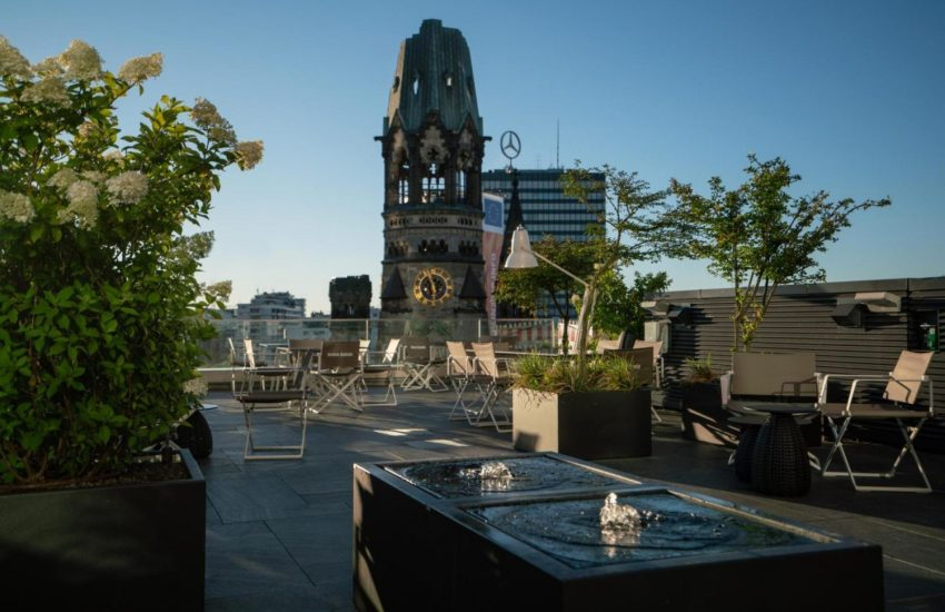 Motel One,Berlin,Lokale,#VisitBerlin,#Essen/Trinken,EventNewsBerlin,Dachterrasse des Motel One