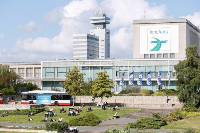 Bild,InnoTrans 2018, InnoTrans, Wirtschaft, Transport, Bahn, Messen, Verkehr, Berlin