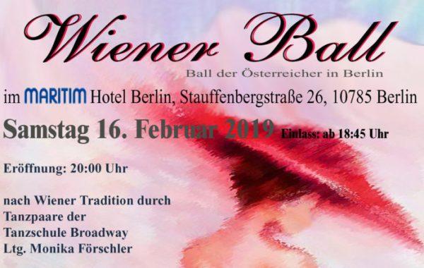 Wiener Balll,Berlin,Event, Freizeit,Unterhaltung,Österreichisch Deutschen Gesellschaft e.V.,EventNews