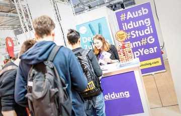 Ausbildung,Berlin,Gap Year,Praktikum,Messe,Ausstellung,Studium