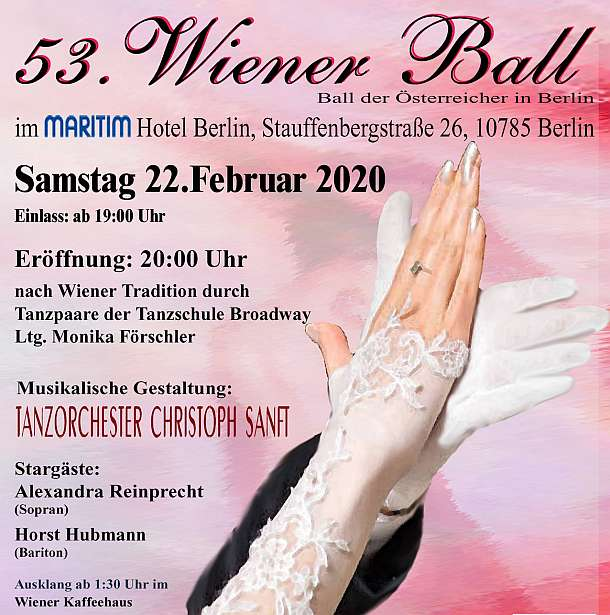 Wiener Ball Berlin 22. Februar 2020