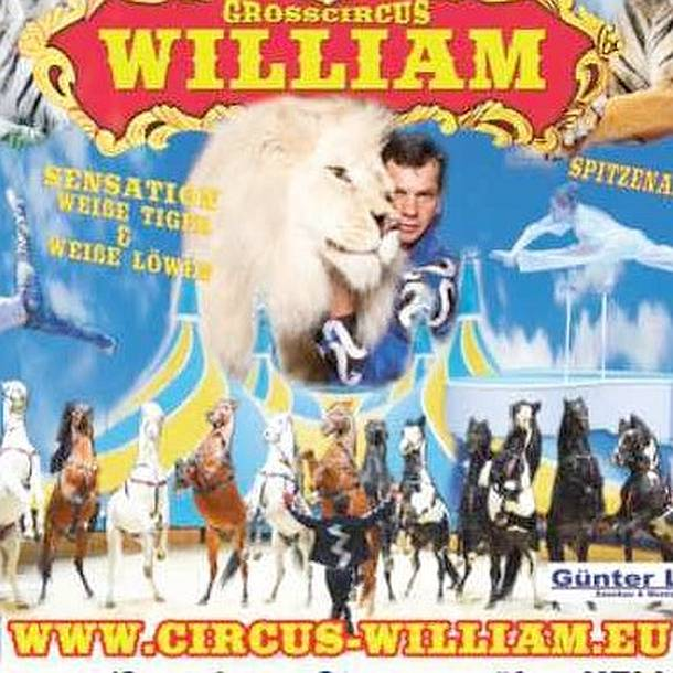Circus William Show- Gewinne 5×2 Freikarten- Berlin Falkensee