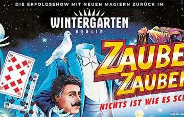 Wintergarten, Varieté,Berlin,EventNews,Show,EventNewsBerlin,VisitBerlin