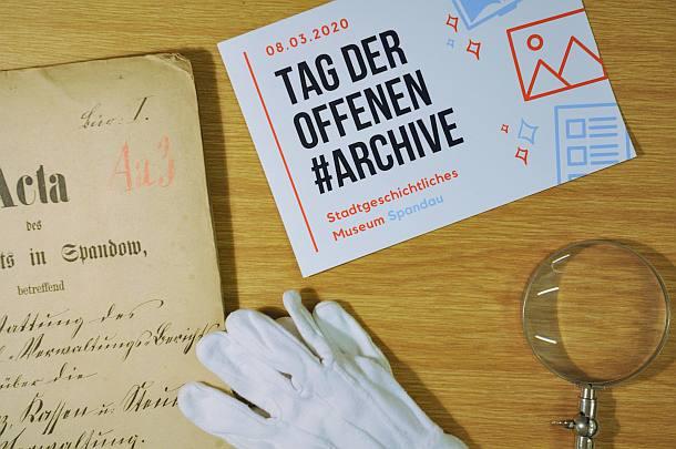 Tag der offenen Archive,Event,Ausstellung,Berlin