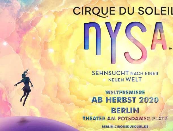 Cirque du Soleil Berlin Sehnsucht nach einer neuen Welt