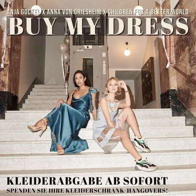 BUY MY DRESS – Charity-Sale – schenken Sie Kleidern neues Leben!