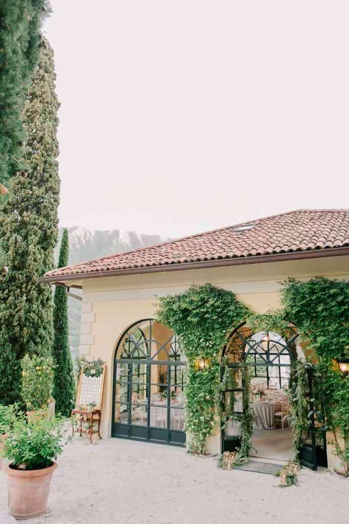 Villa del' Balbianello building