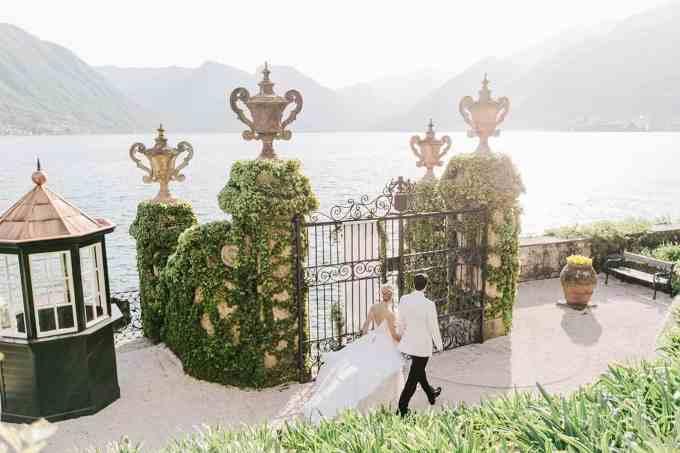 Villa del' Balbianello gate