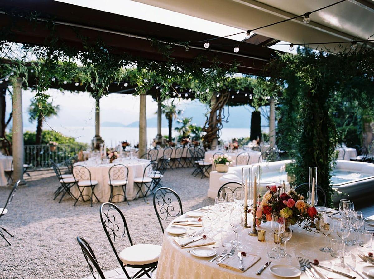 Villa Cipressi reception
