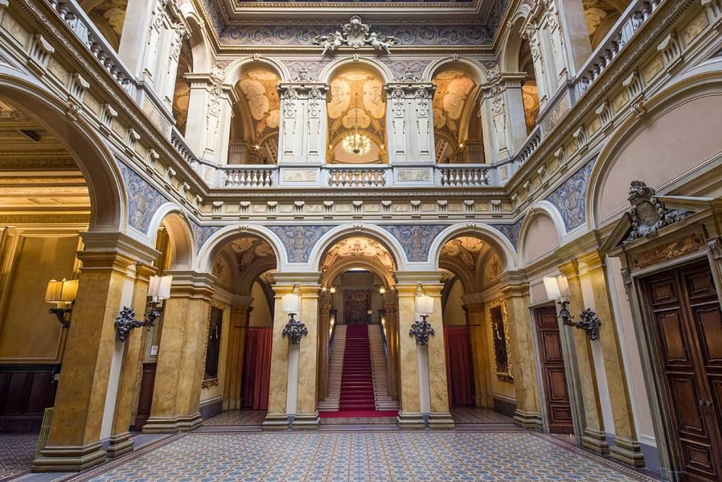 Villa Erba internal