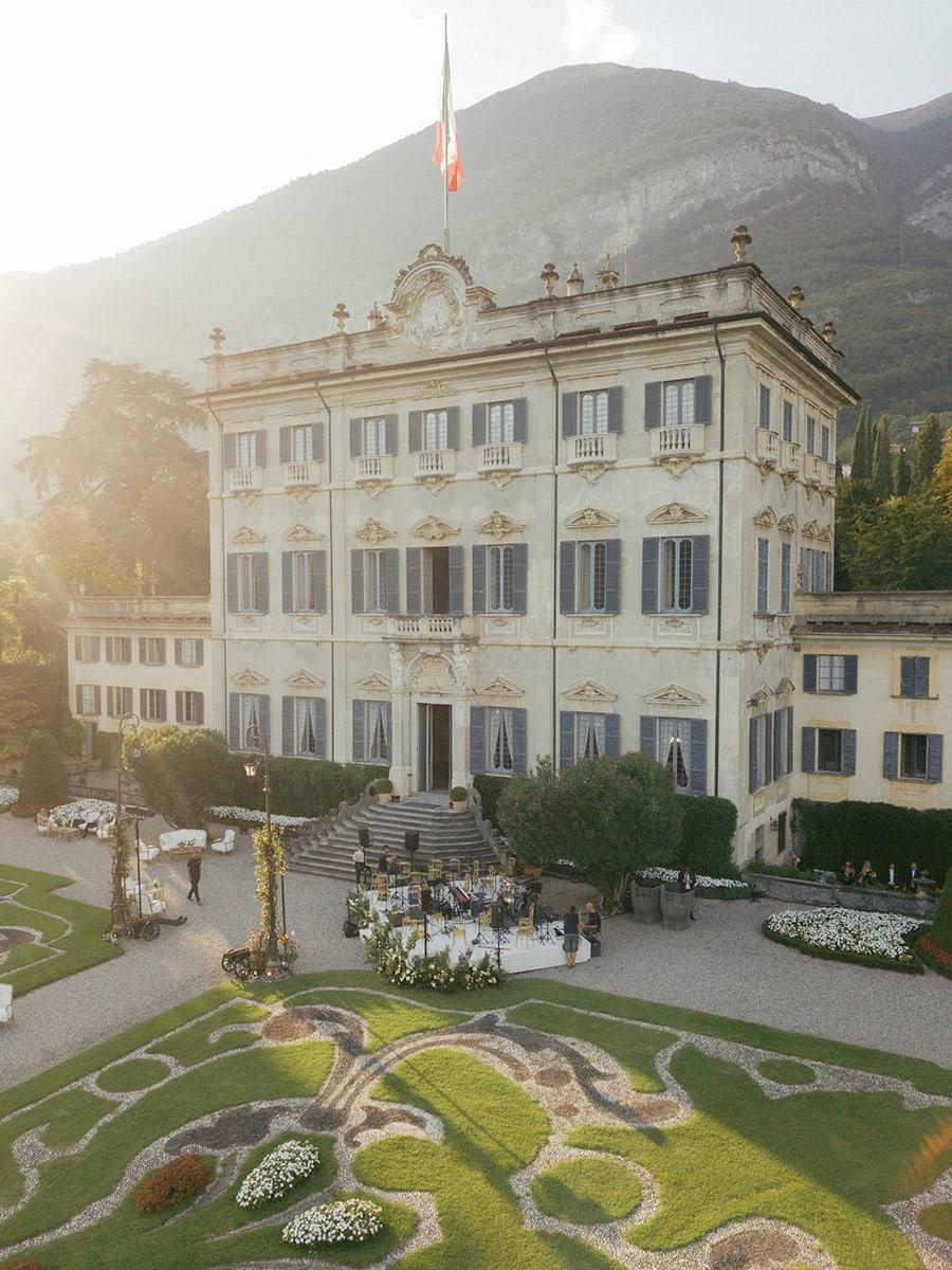 Villa Sola Cabiate building