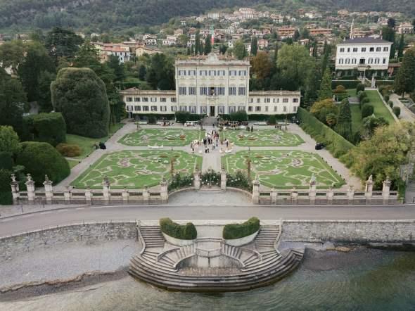 Villa Sola Cabiate external
