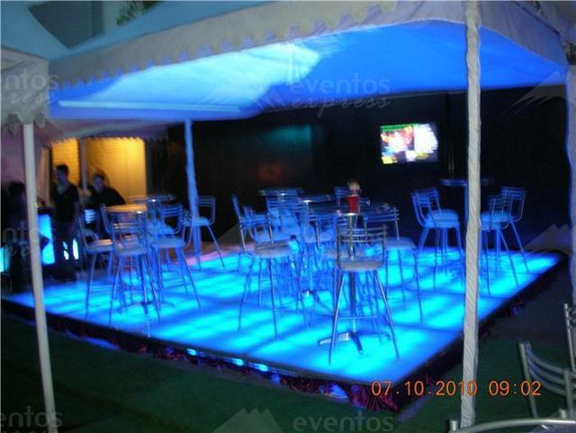 Renta de Pistas de Baile en Monterrey Iluminadas