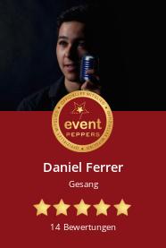 Daniel Ferrer: Einzelmusiker, Gesang
