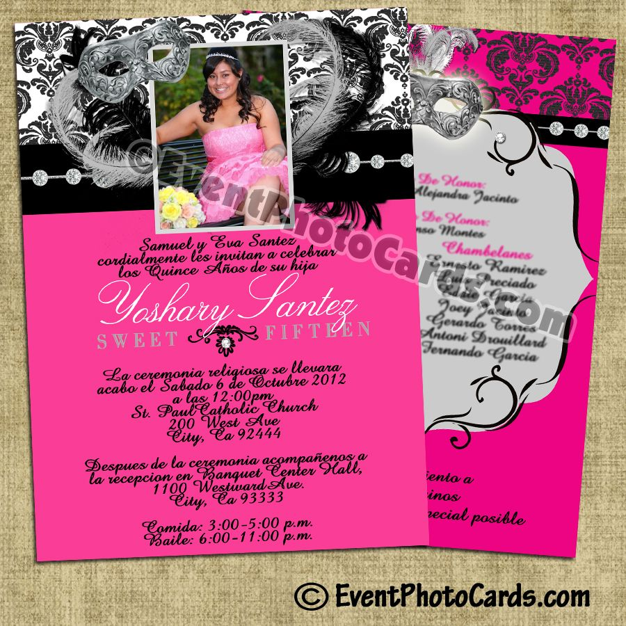 Invitations For 15