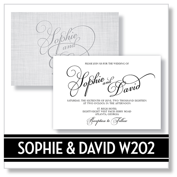 Sophie And David W202