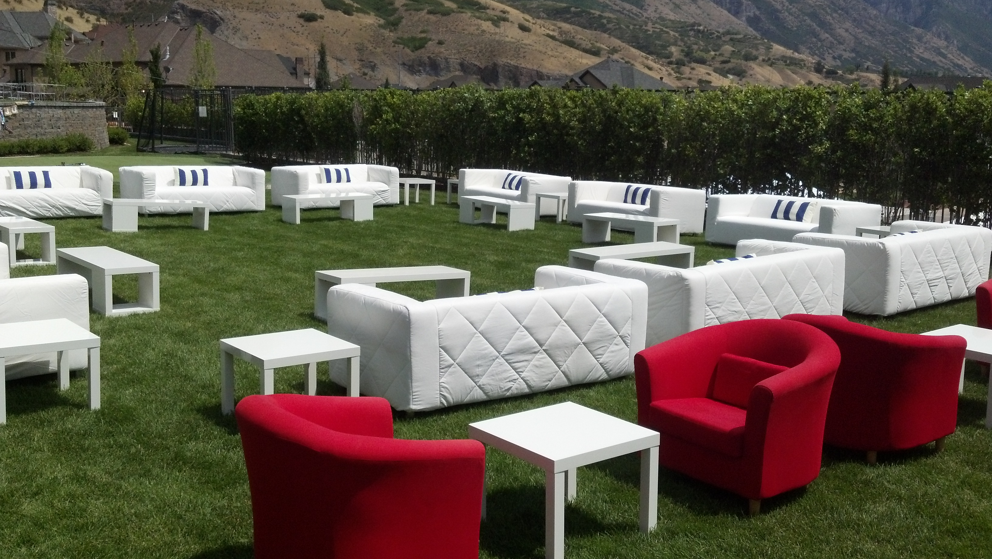 rent a chair outdoor and ottoman cover party rental equipment salt lake all out event