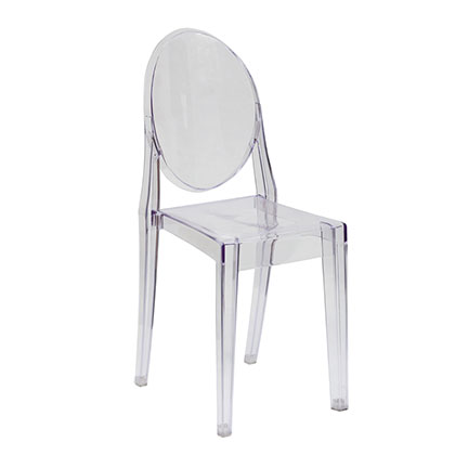 Acrylic Ghost Chair  All Out Event Rental
