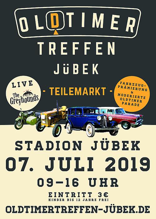 Flyer Oldtimertreffen Jübeck
